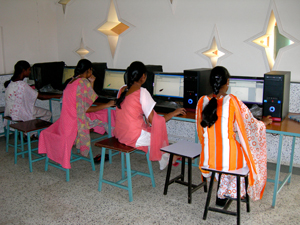 Ruth Girls Institute Computer Operation
